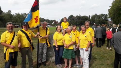 Der TSV wünscht dem Schützenverein ein schönes Schützenfest